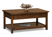 Centennial Open Coffee Table with Drawer