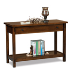 Centennial Open Sofa Table with Drawer
