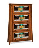 Colbran 4 Door Barrister Bookcase