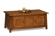 Colbran Enclosed Coffee Table with Doors