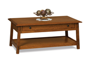 Colbran Open Coffee Table with Drawer