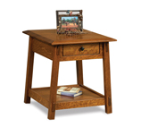 Colbran Open End Table with Drawer