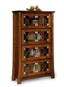 Modesto 4 Door Barrister Bookcase