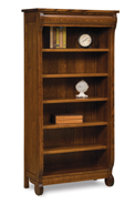 "Old Classic Sleigh 5 Shelf 6"" Bookcase"