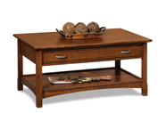 West Lake Open Coffee Table with Drawer