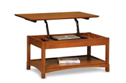 West Lake Open Lift Top Coffee Table with Counterweight