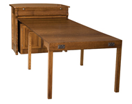 Hampton Frontier Island Buffet with Pull Out Table