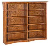 HB Double Economy Bookcase
