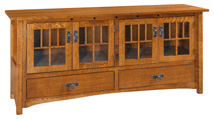 Dynasty Mission TV Cabinet