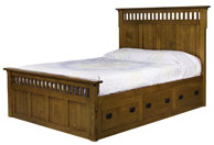 Elite Mission Storage Bed