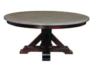 "Rocky Point 66"" Round Dining Table"