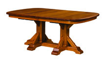 Rocky Point Double Pedestal Dining Table