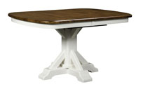 Rocky Point Single Pedestal Dining Table