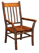 Millcreek Live Edge Arm Chair