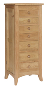 Large Shaker Hill Jewlery Armoire