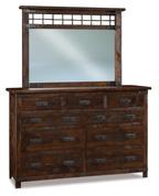 Ironwood 9 Drawer Dresser