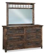 Ironwood 6 Drawer Dresser