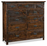 Ironwood 11 Drawer Double Chest