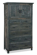 Ironwood 6 Drawer 2 Door Chest Armoire