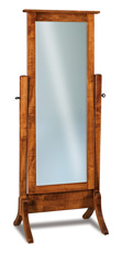 Shaker Beveled Cheval Mirror