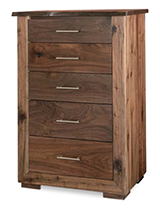 Live Wood 5 Drawer Chest