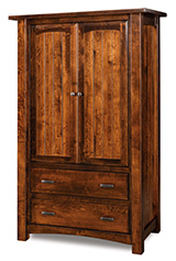 Timbra 2 Drawer 2 Door Armoire