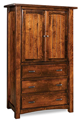 Timbra 3 Drawer 2 Door Armoire
