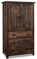 Dumont 3 Drawer 2 Door Armoire