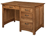 Oakridge Single Pedestal Desk