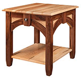 Kensing End Table (2 Wood Combination)