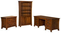 Arts & Crafts Office Furniture Set