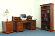 Oakwood Office Furniture Set