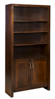 Tempo Bookcase with Doors