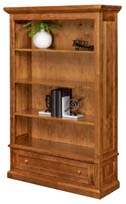 Alexis Open Bookcase