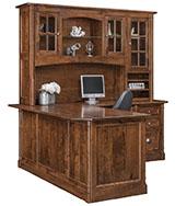 """Covington 72"""" Corner Desk with Hutch"""