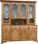 LaGrange 4 Door Hutch