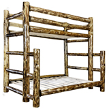 Glacier Country Bunk Bed - Twin/Full