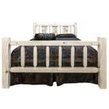 Homestead Bed with Laser Engraved Design