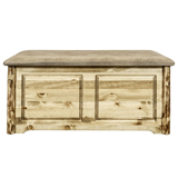 Glacier Country Small Blanket Chest with Upholstered Top