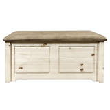 Homestead Small Blanket Chest with Upholstered Top