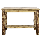 Glacier Country Console Table with Shelf
