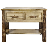 Glacier Country 2 Drawer Console Table