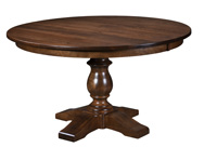 Alex Single Pedestal Dining Table