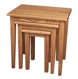 Set 3 Shaker Leg Nesting Tables