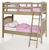 Allexas Twin/Twin Bunk Bed