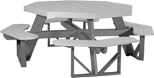 Poly Vinyl Octagon Picnic Table