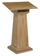 Large Raised Panel Podium