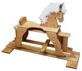 Oak Glider Rocking Horse