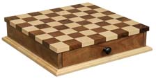 Checkerboard with Drawer