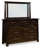 Bridgeview 9 Drawer Dresser